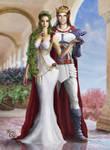 Lornd and Setsuna by Irbisty