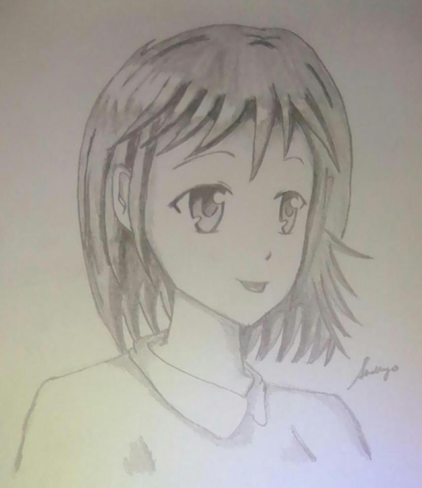 Random Anime Girl 3 Practice Drawing Anime Days By TheOtakuGirl148