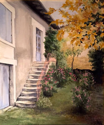 Authier house (charente) by ClairObscur16