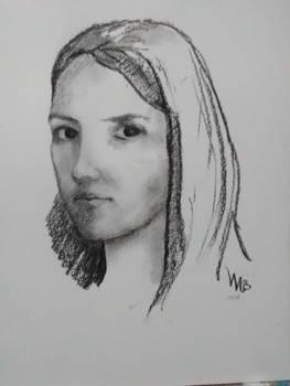 Clairobscur  Self-portrait