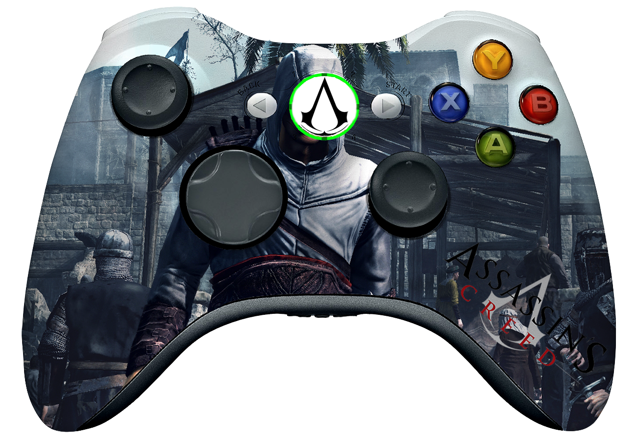 Assassin S Creed Controller By Deathdragun On Deviantart