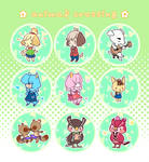 animal crossing 1.5 buttons