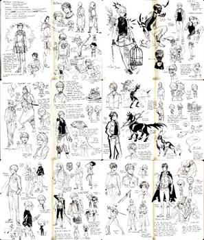 oc fantasy designs