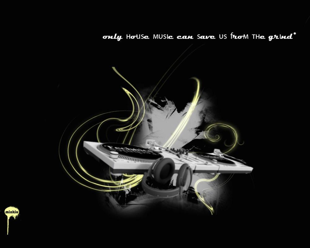 House music by minkiu on deviantart for House music 2007