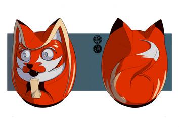 Daruma fox
