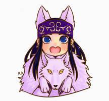 Asirpa chibi  by purplesakura10
