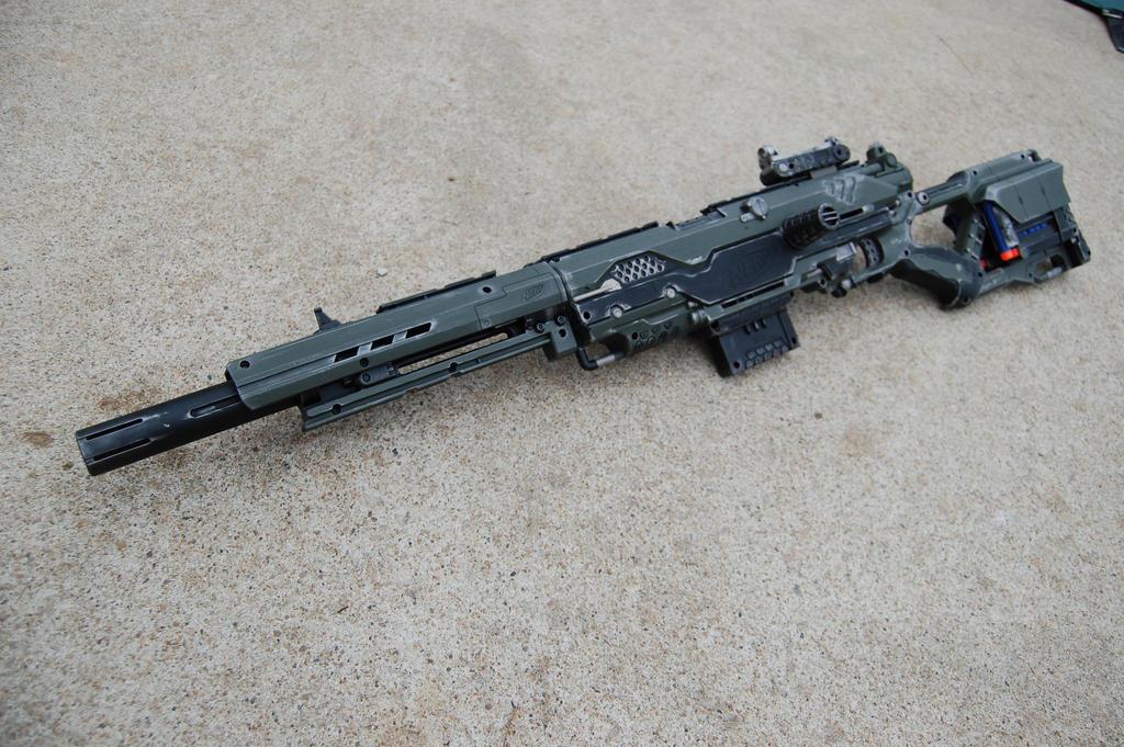 Nerf Strongarm Blaster Custom Paint Best