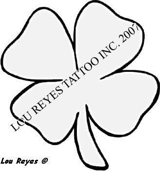 Four Leaf Clover Tattoo by LouReyesTattoo on DeviantArt