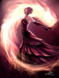 Lightning - Midnight Mauve: Dance of the Savior by raikoart