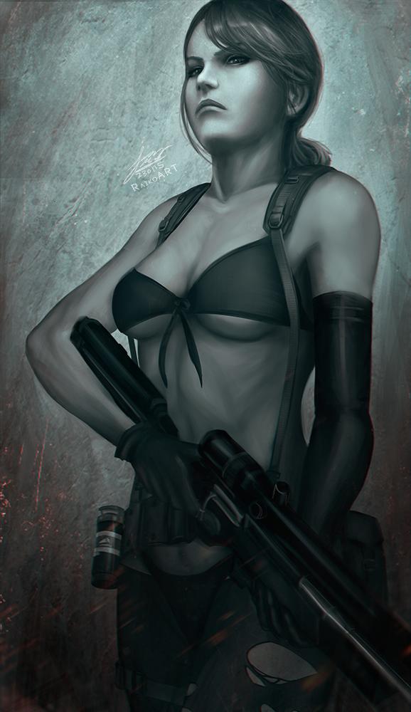 Metal Gear Solid 5 Quiet Deviantart