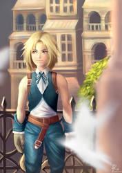 Final Fantasy 9: Zidane Tribal by raikoart