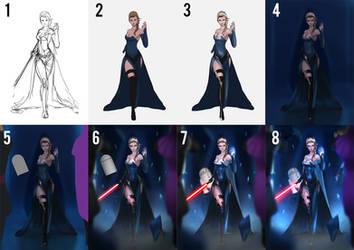 Sith Lord Elsa Process