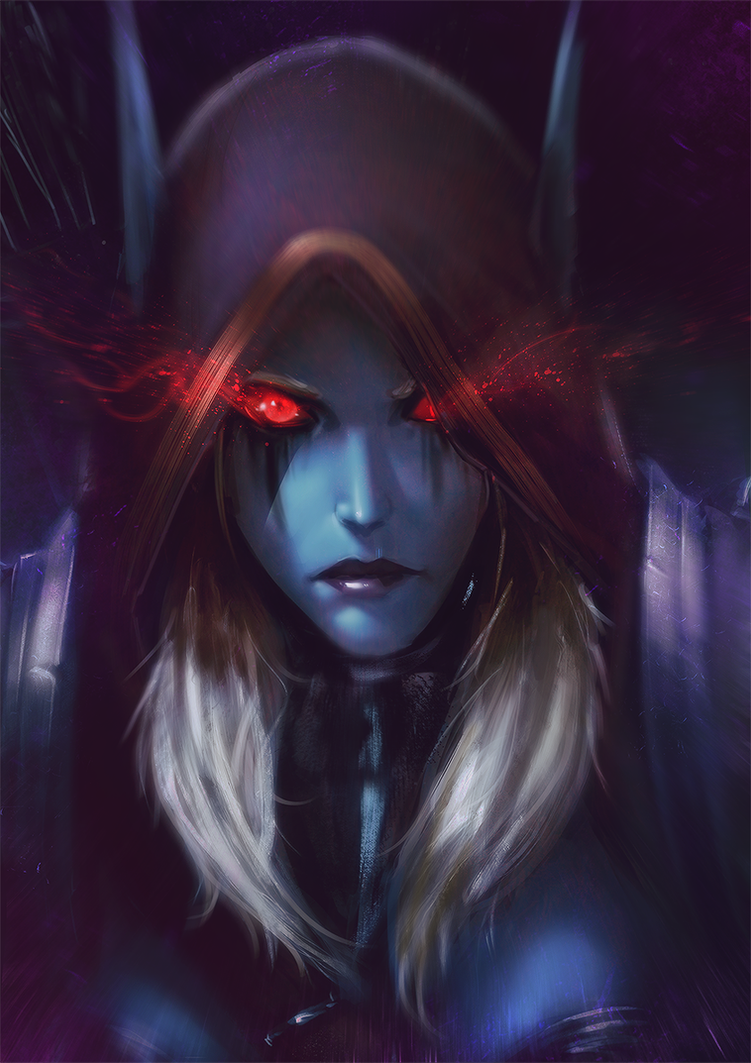 Call of the Dark Lady by raikoart