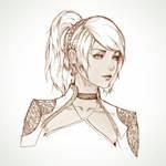 Lunafreya Sketch
