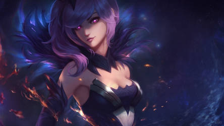 Dark Elementalist Lux Wallpaper