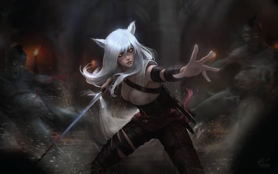 Witcher Ahri