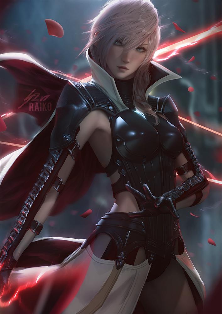Lightning by raikoart