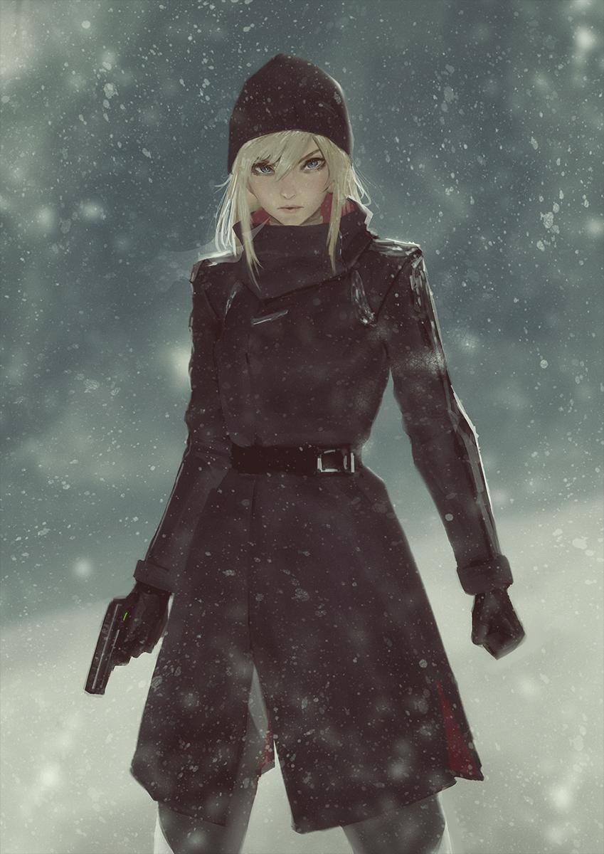 Dress warmer by raikoart