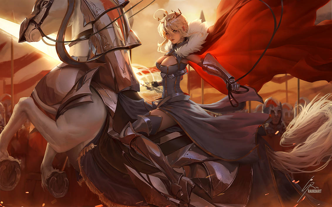 Artoria Lancer by raikoart
