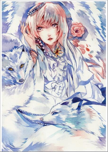 White Fox by berinne