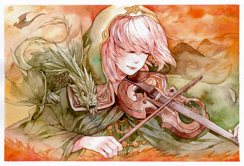 Song of Dragons by berinne