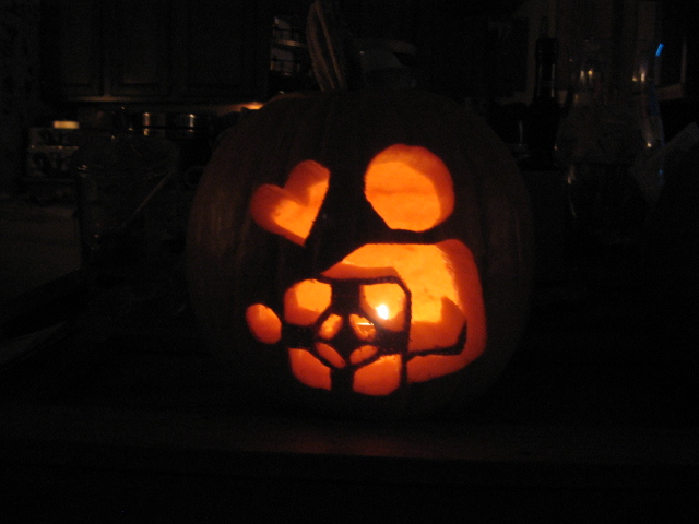 Portal Pumpkin by Sk4yt