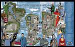 GTA III Liberty City map - 3200-px x 2026-px