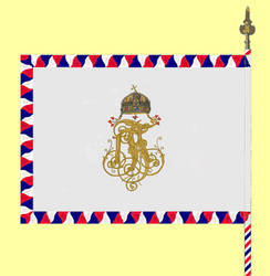 Croatian Flag - Royal Croatian Home Guard - 01