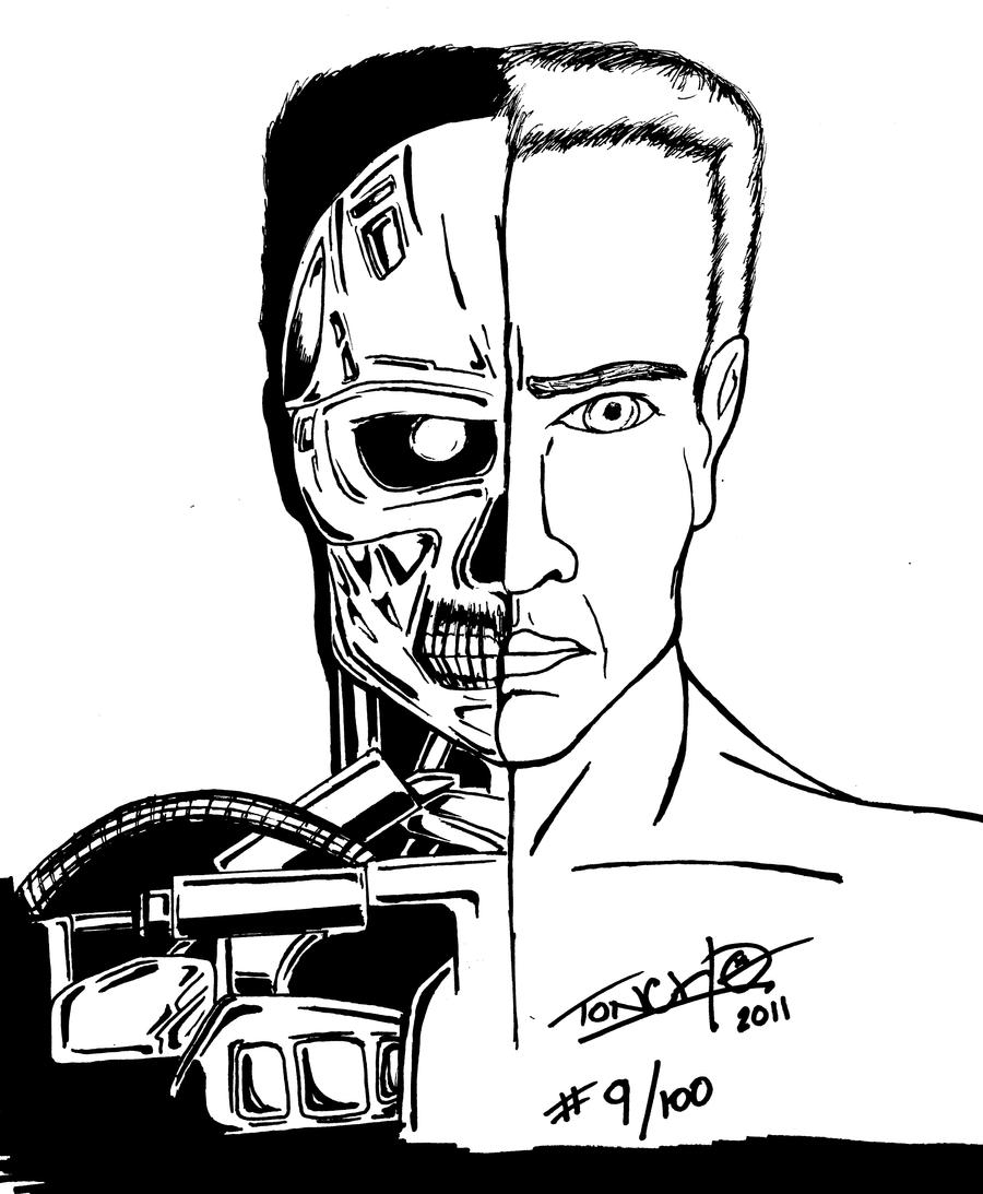 Terminator II Judgement Day 204951460 on Random Number Cartoon