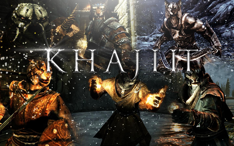 Skyrim - Khajiit by xTiiGeR