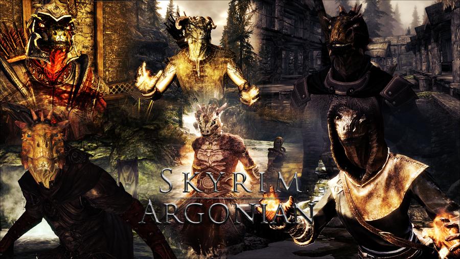 Skyrim - Argonian by xTiiGeRArgonian Skyrim
