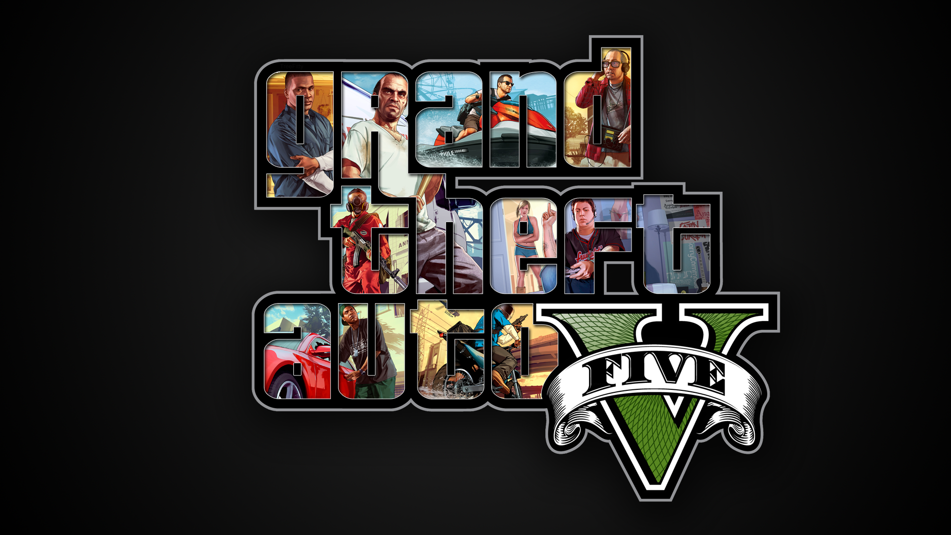 GTA V Wallpaper By XTiiGeR On DeviantArt