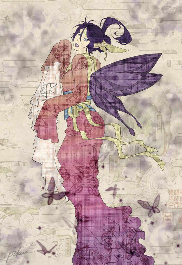 Hitsuzen - Okami inspiration by piku-chan