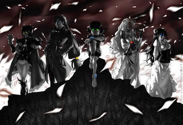 Slayers: Five Lords Wage War by piku-chan