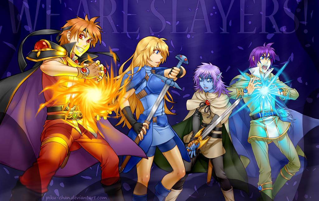 Slayers We Are Slayers By Piku Chan On Deviantart