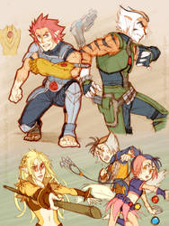Thundercats - Inspired Dump 4 by piku-chan