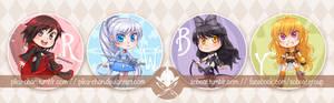 RWBY: Badges!