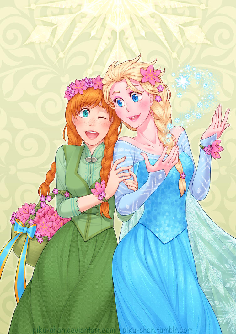 Flowers of Arendelle by piku-chan