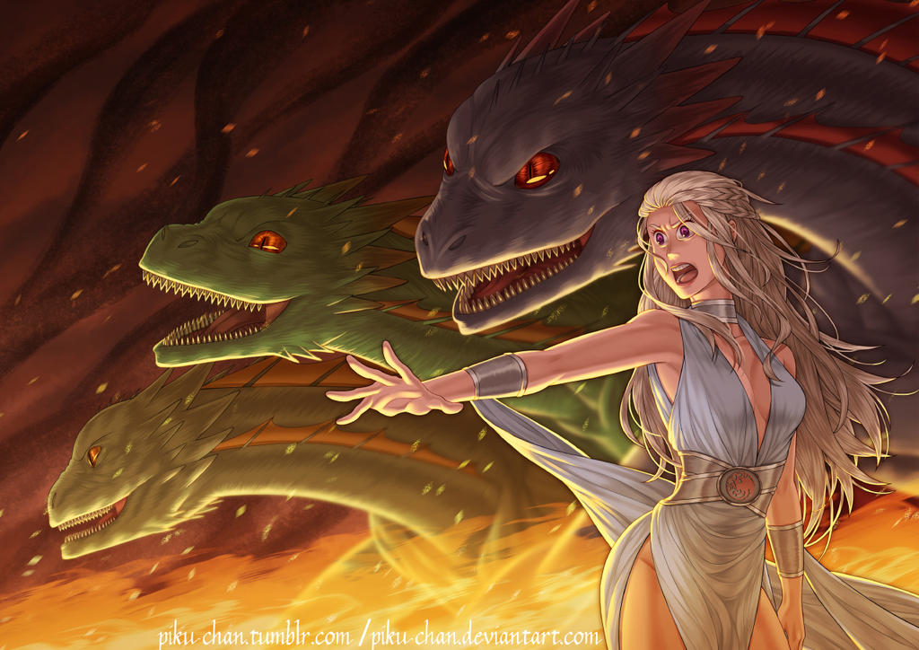 House Targaryen (Final) by piku-chan
