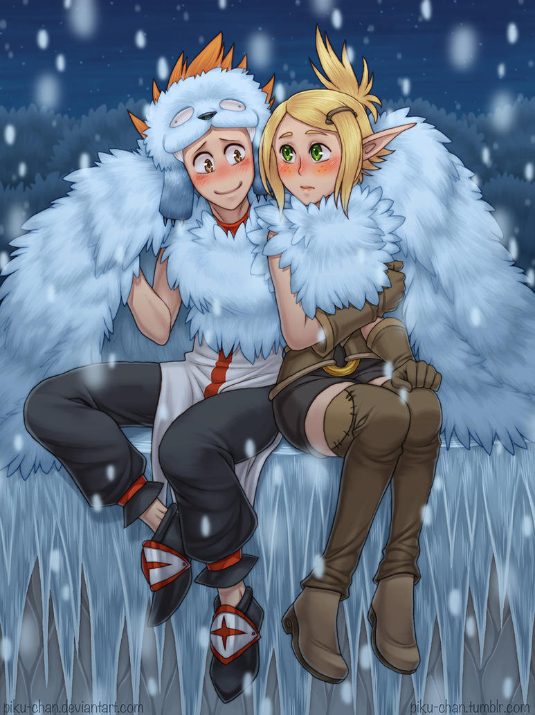 Wintry Rendezvous by piku-chan