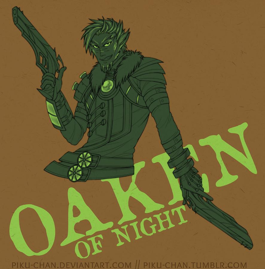 Oaken of Night by piku-chan