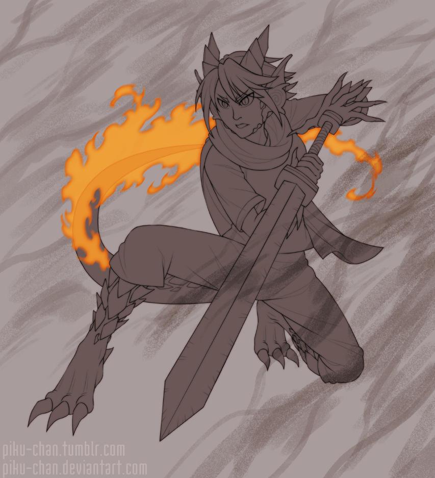 Seraphina's Fire by piku-chan