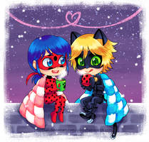 Twilight and Hot Chocolate by piku-chan