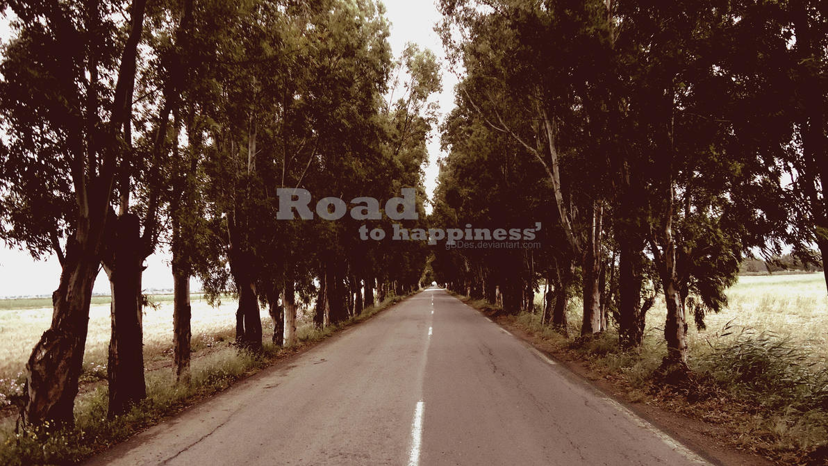 An easy road to happiness