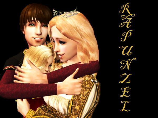 Rapunzel Family by WhiteButterflyFilms