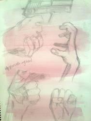 Hands EVERYWHERE by maryemm57