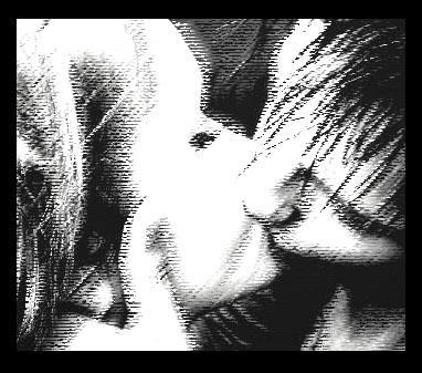 Precious kiss. by zeroxerox