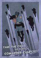 TF2 Propaganda Poster by B0nd07