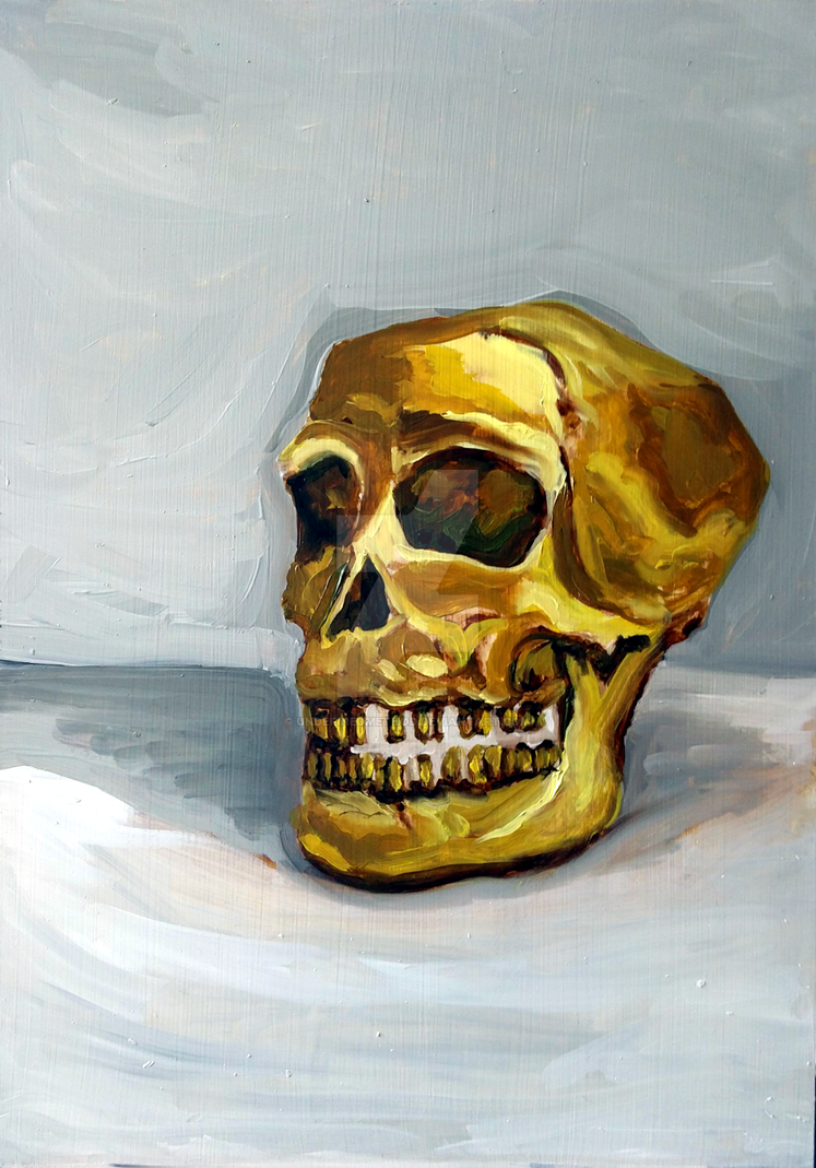 Gold-skull-1000 by undefinedmethod