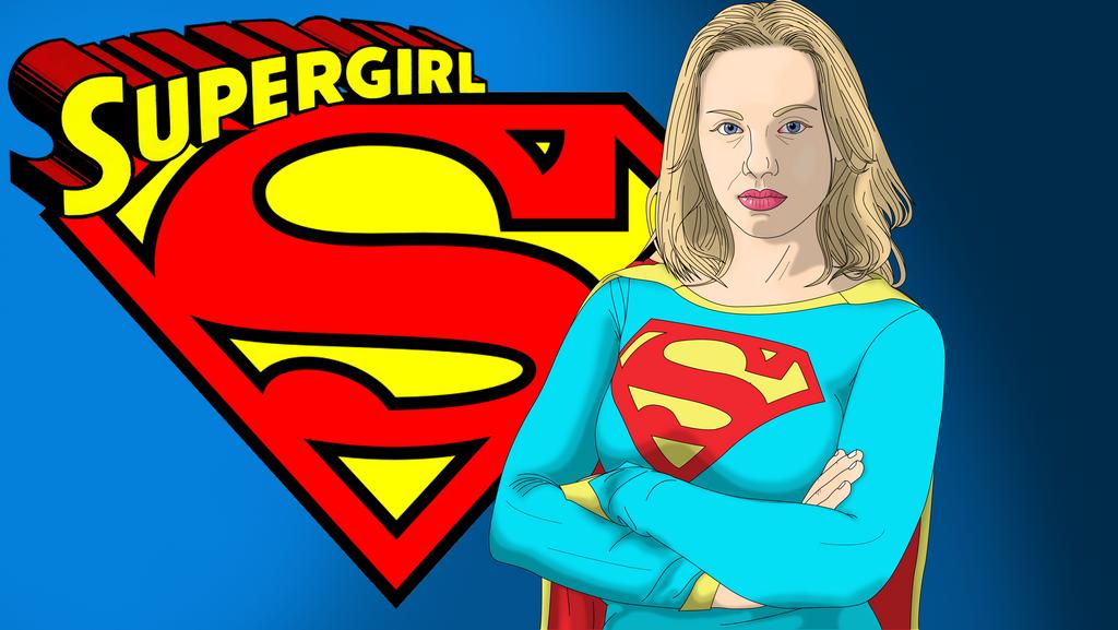 Supergirl Wallpaper by Neoindigo1